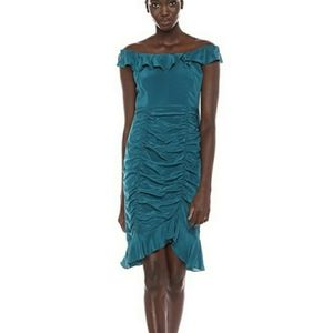 NWT Nanette Lepore Azure Sunset Silk Dress